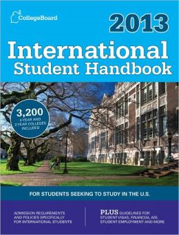 International Student Handbook 2013: All-New 26th Edition