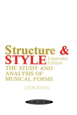 Anthology of Musical Forms -- Structure & Style: The Study and Analysis of Musical Forms