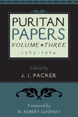 Puritan Papers: 1963-1964
