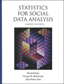 Statistics for Social Data Analysis