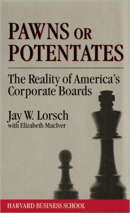 Pawns or Potentates: The Reality of America's Corporate Professionals