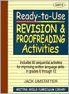 Ready-to-Use Revision and Proofreading Activities: Unit 5