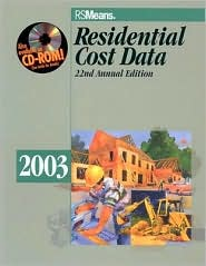 2003 Residential Cost Data