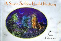 Susan Boulet Bestiary: Postcard Book