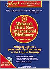 Webster's Third New International Dictionary with CD-ROM
