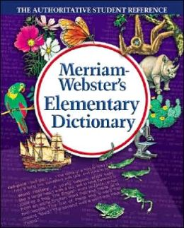 merriam webster dictionary and thesaurus book