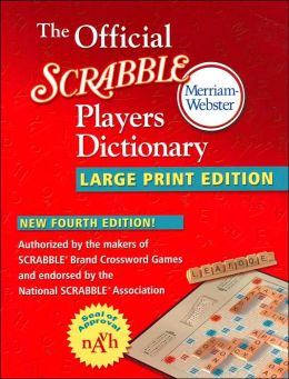 Official SCRABBLE ® Player's Dictionary