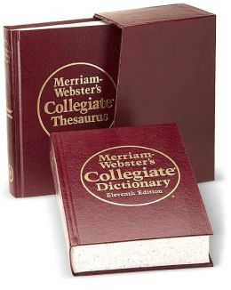 Merriam-Webster's Premium Gift Set: Collegiate Dictionary and Collegiate Thesaurus