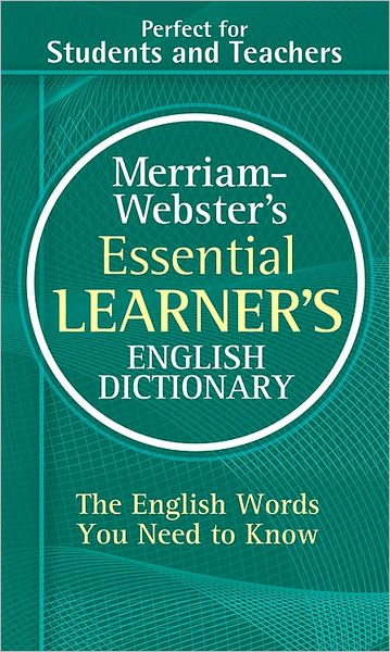 Electronics book pdf free download Merriam-Webster's Essential Learner's English Dictionary 9780877798569 in English by  PDB RTF DJVU