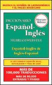 Book Cover Image. Title: Diccionario Espanol-Ingles Merriam-Webster, Author: Merriam-Webster, Inc.
