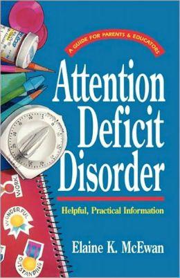 Attention Deeficit Disorder