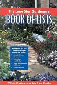 Lone Star Gardener's Book of Lists