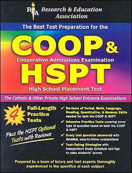 COOP and HSPT: Test Preparation for The Catholic and Other Private High School Entrance Examinations