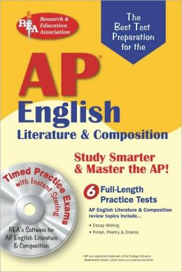 ap english literature amp composition wcdrom rea the