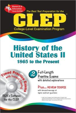 CLEP History of the United States II with CD