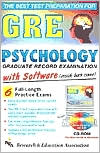 GRE Psychology Test Prep with CD-Rom
