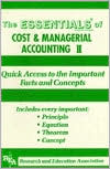 Essentials of Cost and Managerial Accounting II