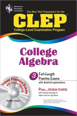 CLEP: College Algebra w/CD-ROM