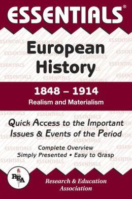 Essentials of European History, 1848-1914