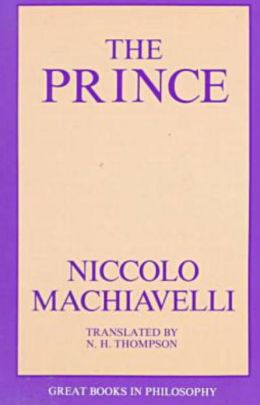The Prince (Great Books in Philosophy Series)