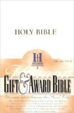 KJV Gift & Award Bible, White Imitation Leather