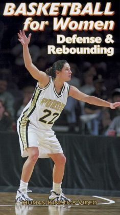 Basketball for Women Defense & Rebounding NTSC Video