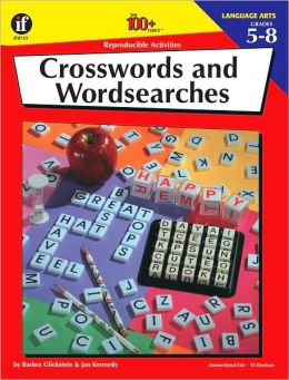 Crosswords and Wordsearches, Grades 5-8