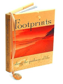 Footprints Along the Pathway of Life Little Gift Book