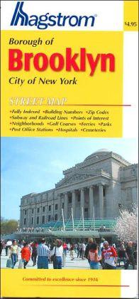 Brooklyn, New York Pocket Map