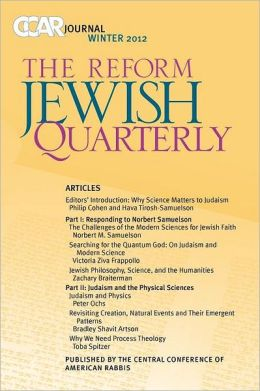 CCAR Journal: The Reform Jewish Quarterly - Winter 2012