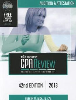 Bisk Comprehensive CPA Review AUD