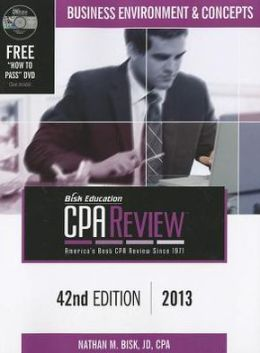 Bisk CPA Review, 42nd Edition, BEC Volume