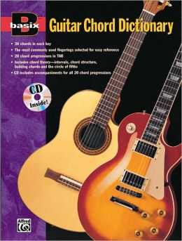 Basix Guitar Chord Dictionary: Book & CD