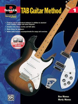 Basix TAB Guitar Method, Bk 1: Book & Enhanced CD