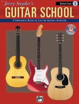 Jerry Snyder's Guitar School, Method Book, Bk 1: Book & CD