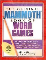 Original Mammoth Book of Word Games