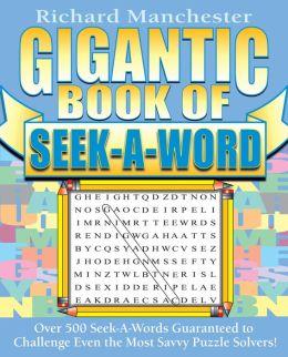 Gigantic Book of Seek-A-Word