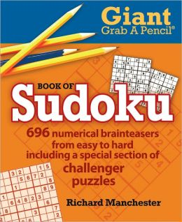 Giant Grab A Pencil Book of Sudoku