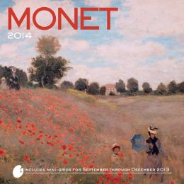 2014 Monet Wall Calendar