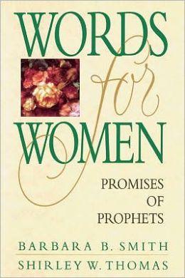Words for Women: Promises of Prophets