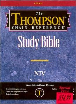 Thompson Chain-Reference Study Bible: New International Version (NIV), royal purple bonded leather