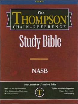 Thompson Chain Reference Study Bible: New American Standard Bible (NASB), Burgundy Genuine Leather, Thumb-Indexed