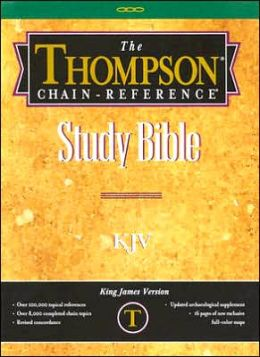 Thompson Chain-Reference Bible: Gray Plain