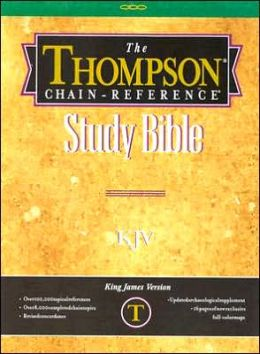 Thompson Chain-Reference Bible: Ivory Plain