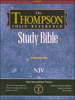 Thompson Chain-Reference Study Bible: New International Version (NIV), Black Imitation Leather