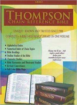 Thompson Chain Reference Bible-KJV