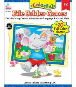 Colorful File Folder Games PK