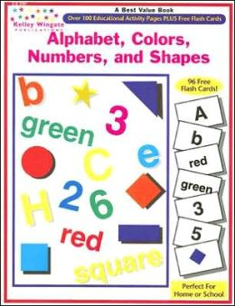 Alphabet, Colors, Numbers and Shapes