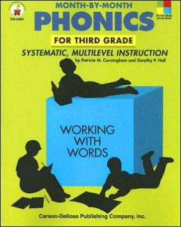 Month-by-Month Phonics for Third Grade: Systematic, Multilevel Instruction