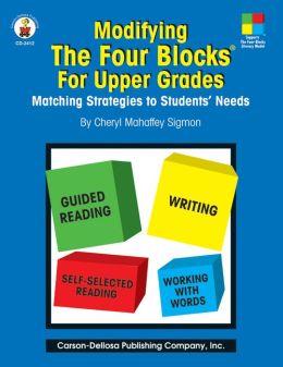Modifying the Four-Blocks for Upper Grades